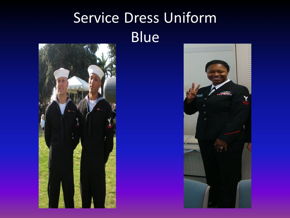 Service Dress Uniform Blue