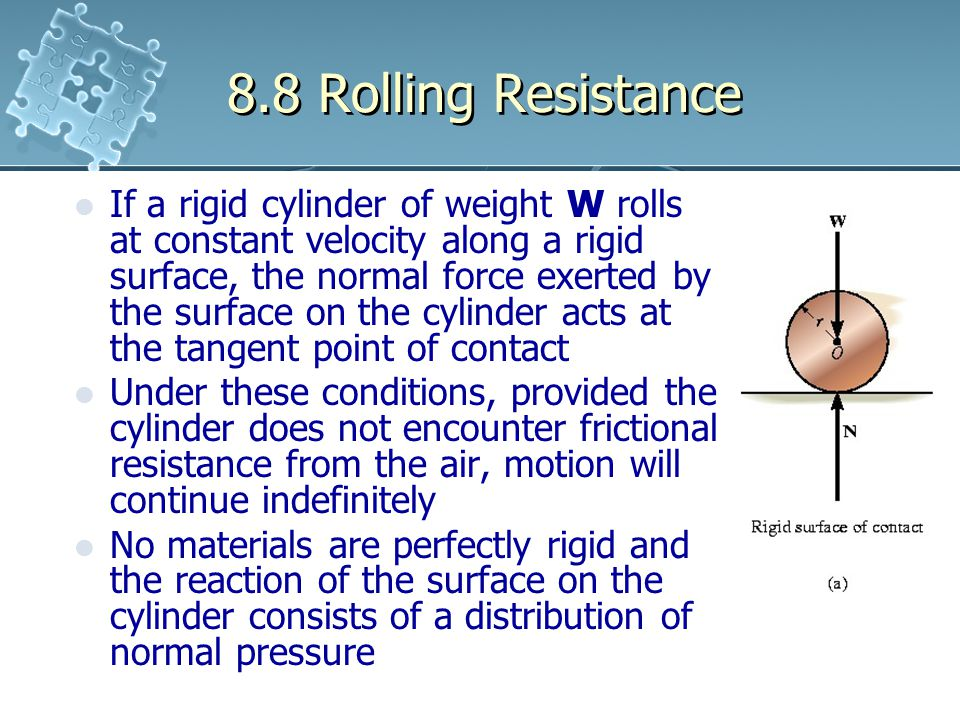 8.8 Rolling Resistance
