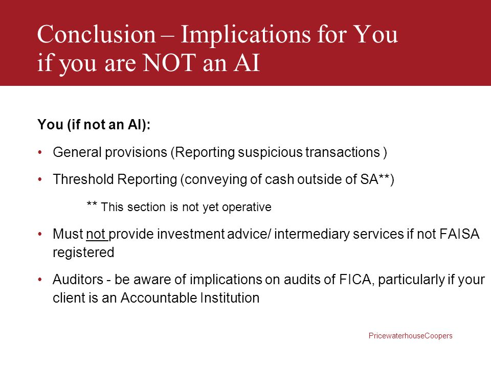 Conclusion – Implications for You if you are NOT an AI