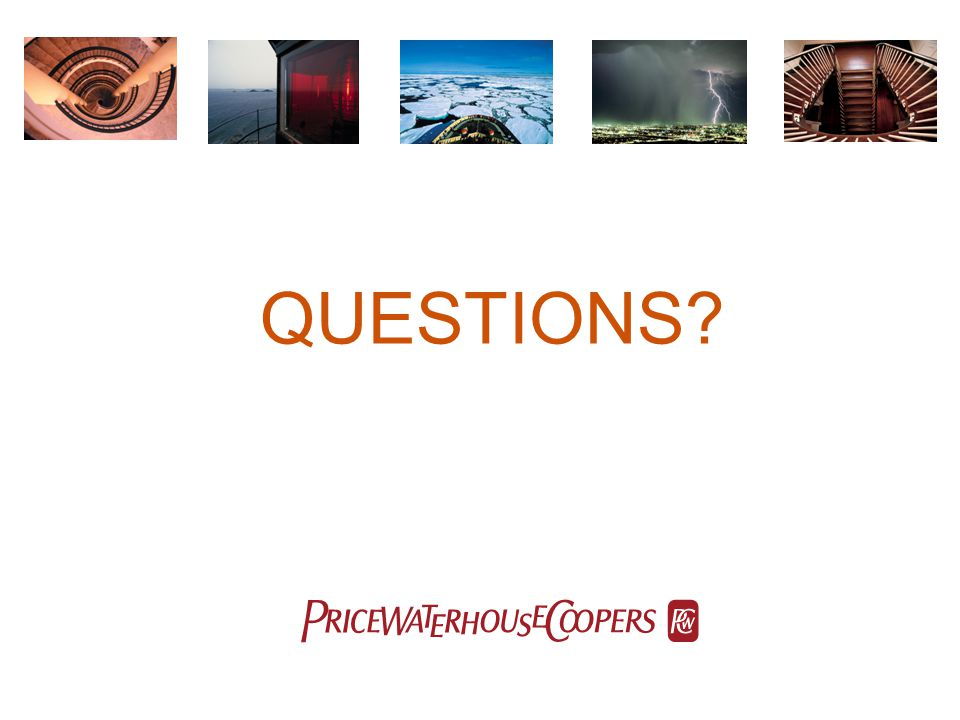 QUESTIONS pwc
