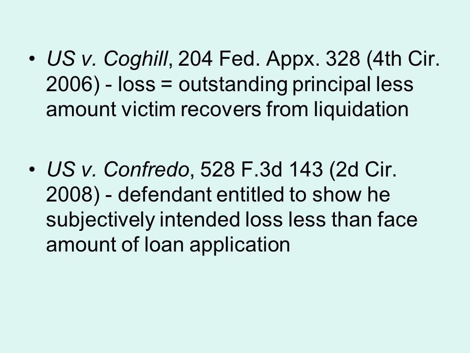 US v. Coghill, 204 Fed. Appx. 328 (4th Cir