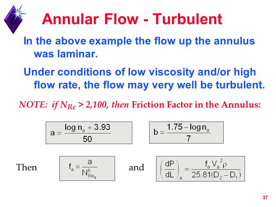 Annular Flow - Turbulent