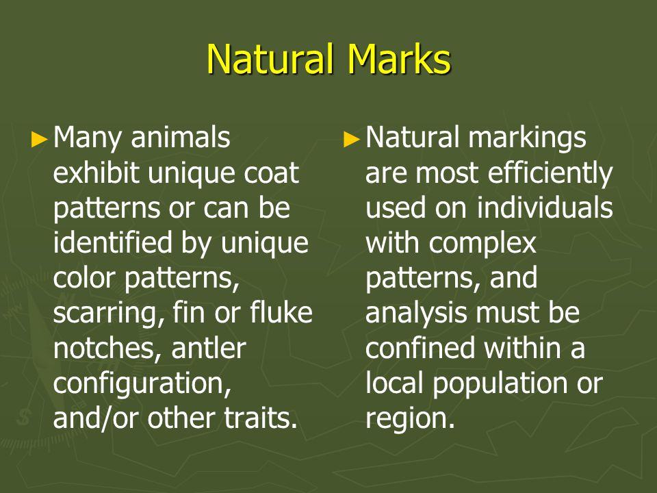 Natural Marks