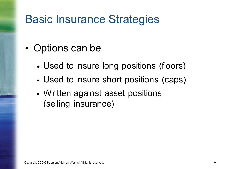 Basic Insurance Strategies