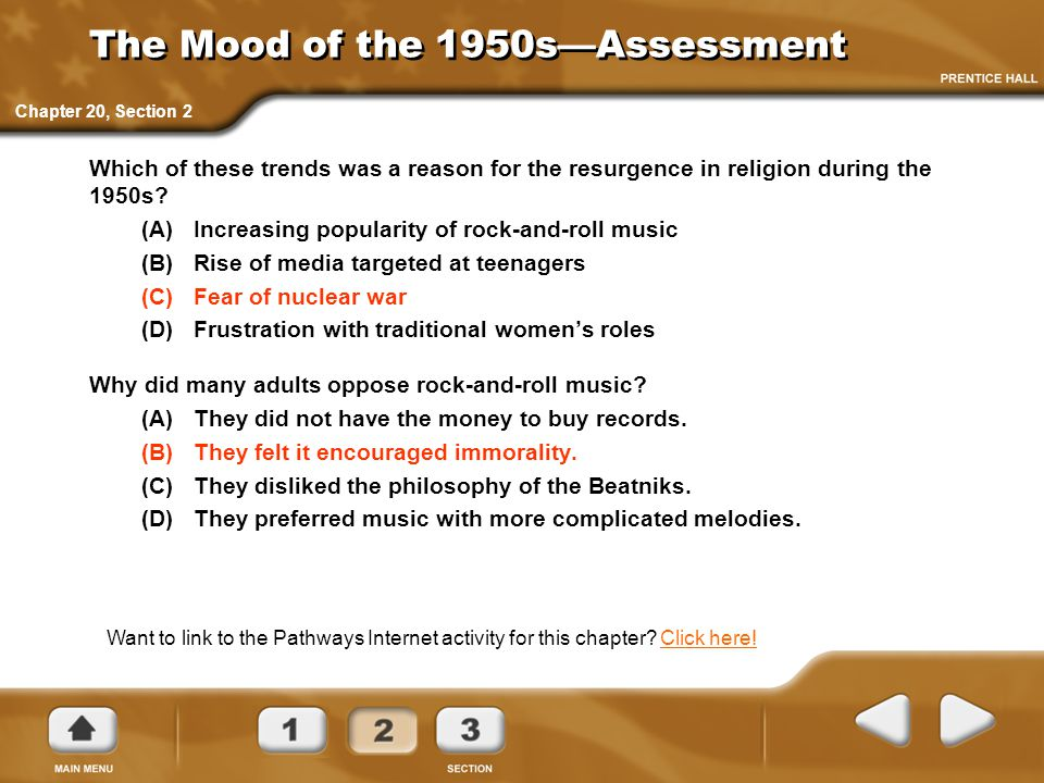 The Mood of the 1950s—Assessment