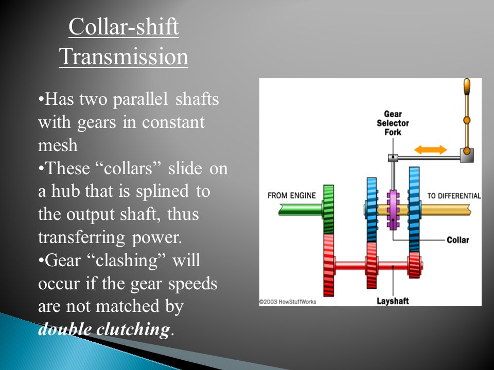Collar-shift Transmission