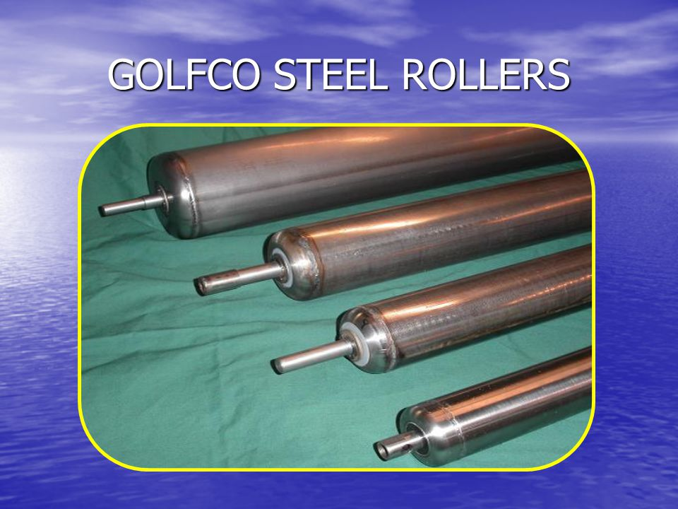 GOLFCO STEEL ROLLERS