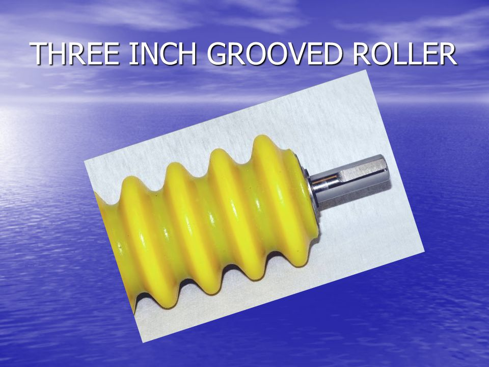 THREE INCH GROOVED ROLLER