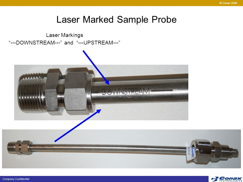 Laser Marked Sample Probe