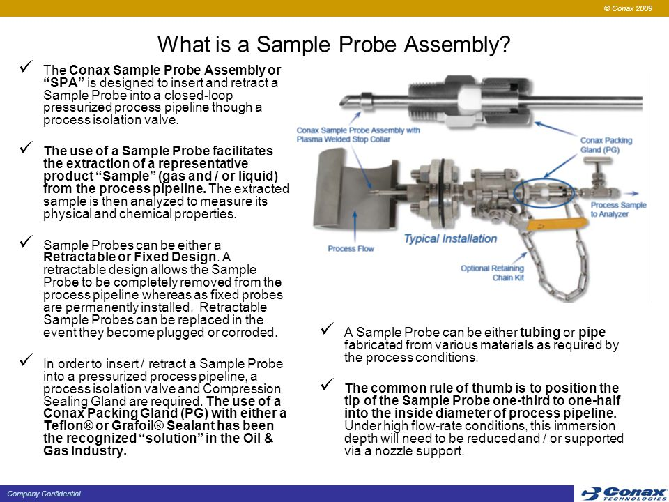 What is a Sample Probe Assembly