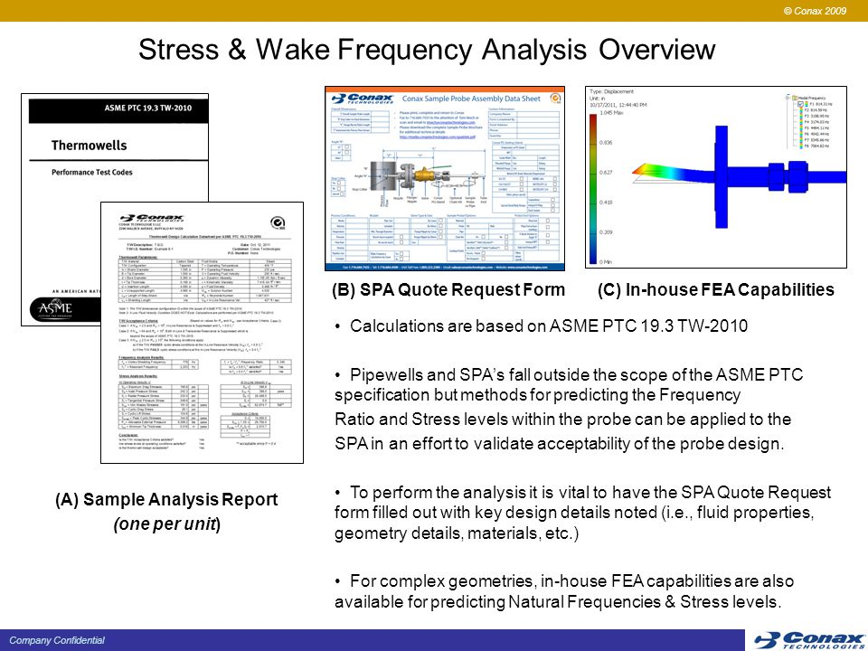 Stress & Wake Frequency Analysis Overview