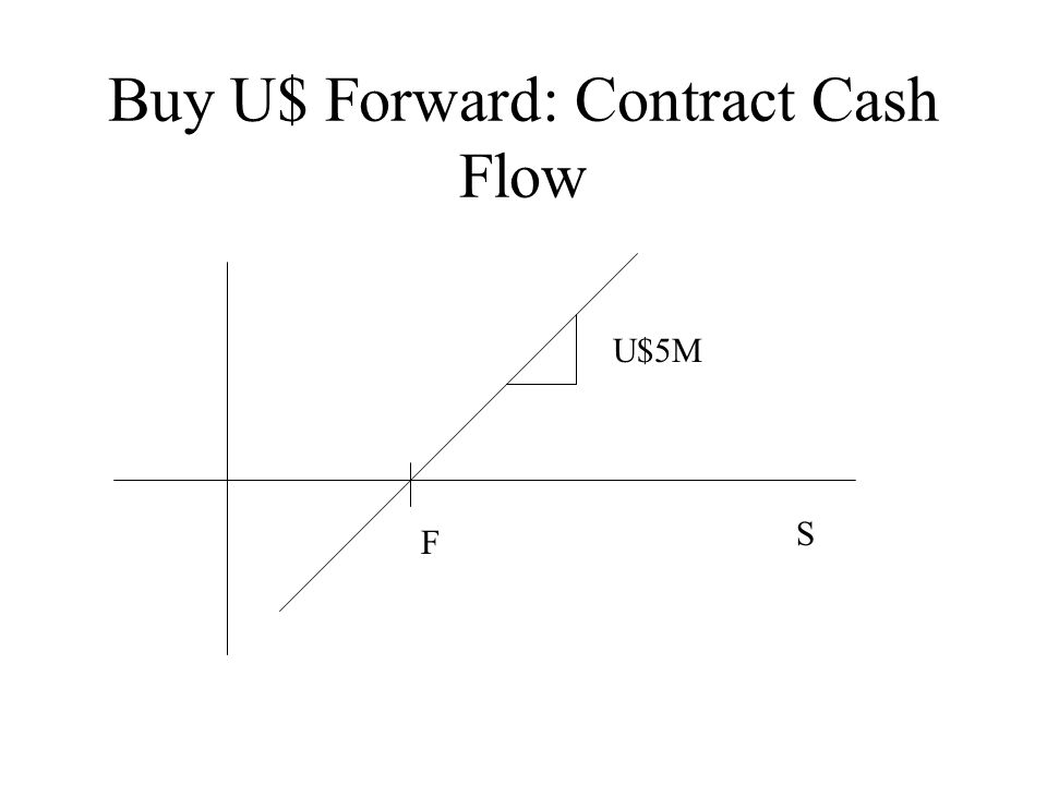 Buy U$ Forward: Contract Cash Flow