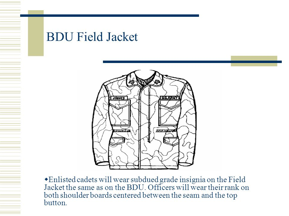 BDU Field Jacket