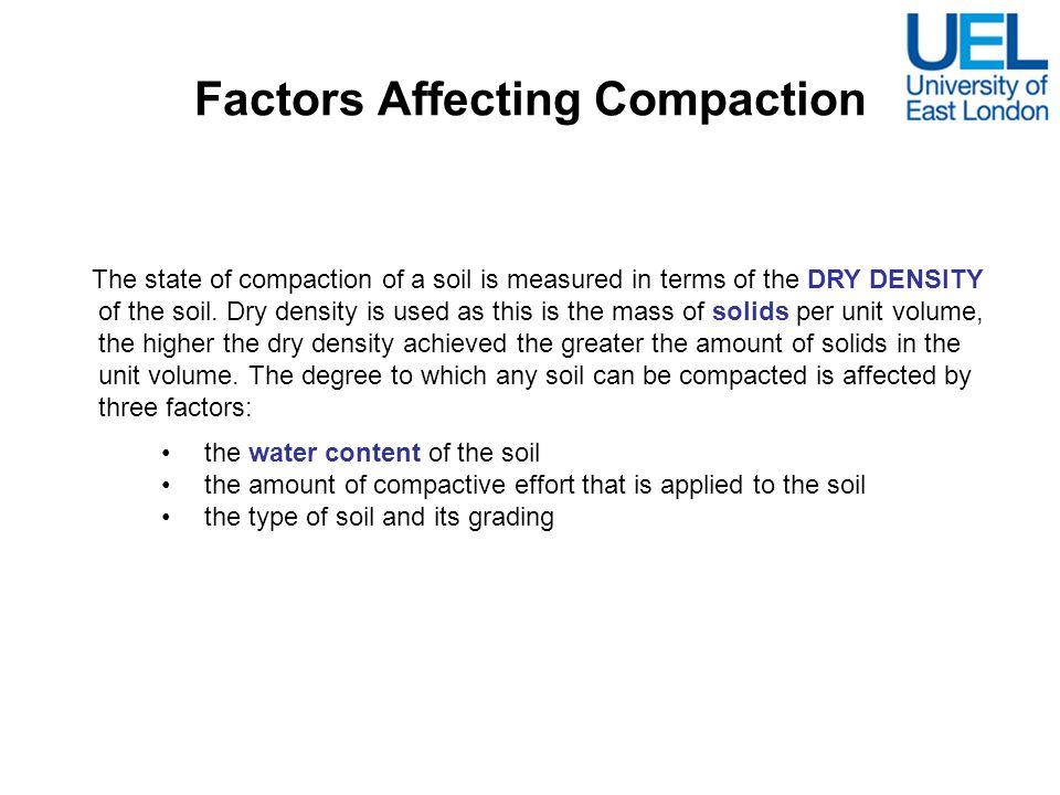 Factors Affecting Compaction