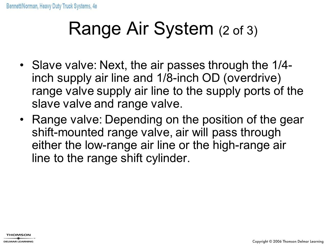 Range Air System (2 of 3)