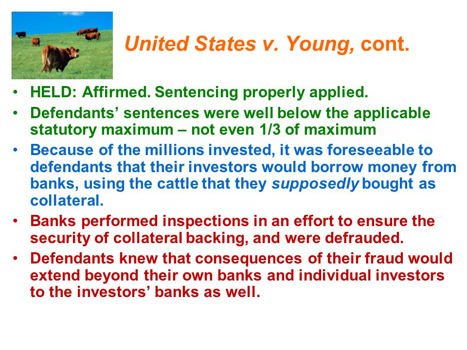 United States v. Young, cont.