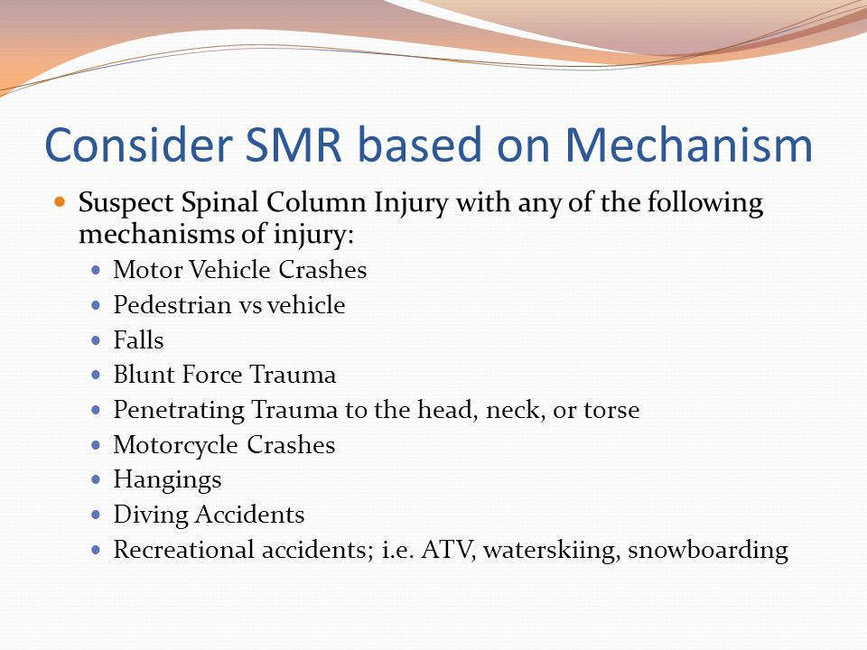 Consider SMR based on Mechanism