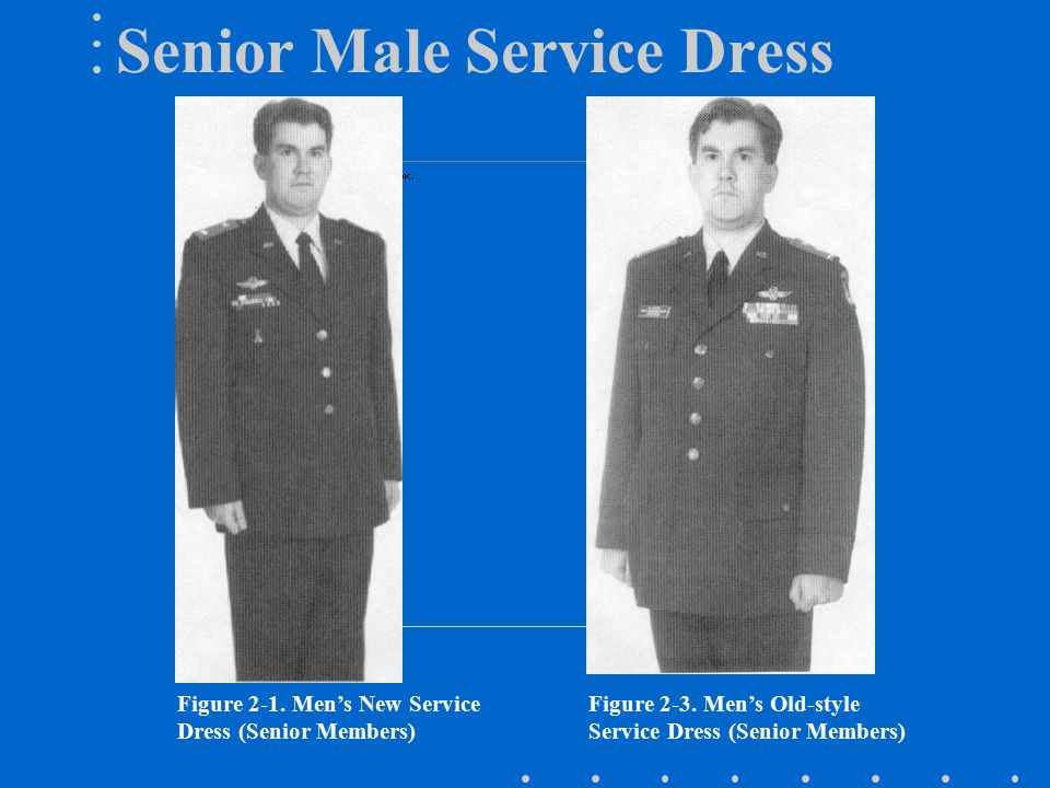 Senior Male Service Dress