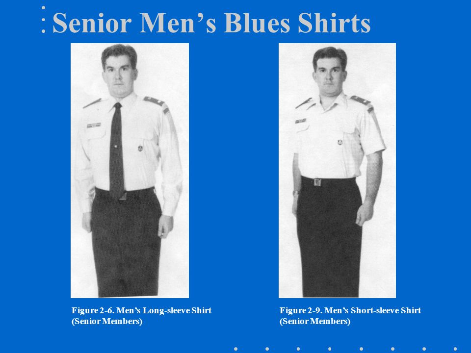 Senior Men's Blues Shirts