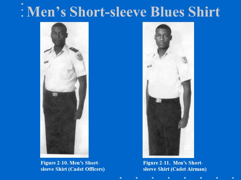 Men's Short-sleeve Blues Shirt
