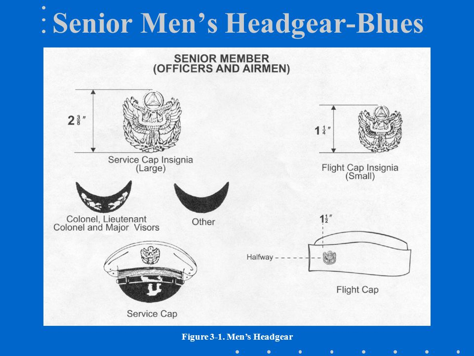 Senior Men's Headgear-Blues