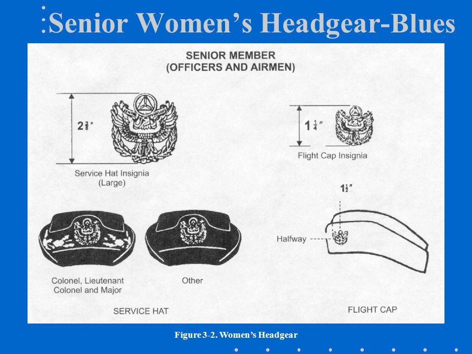 Senior Women's Headgear-Blues