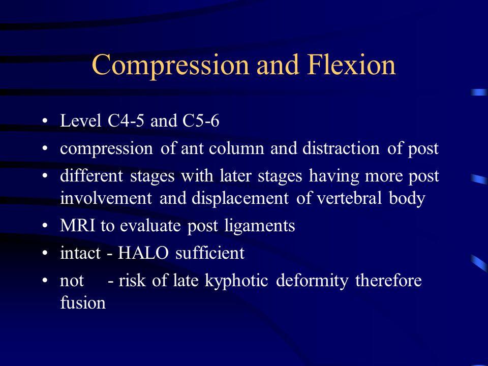Compression and Flexion