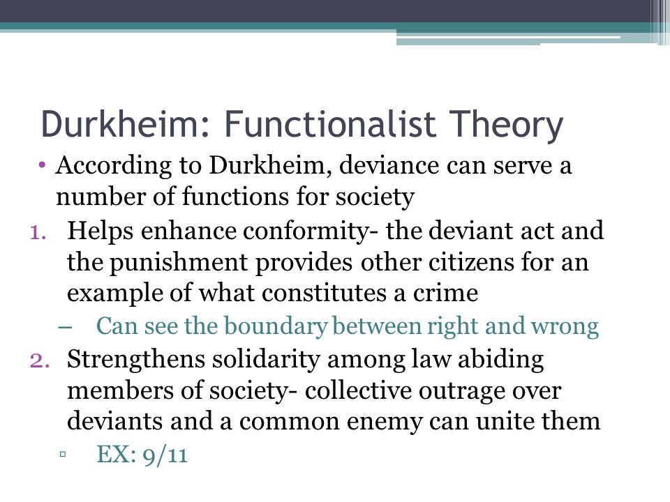Why Is Durkheim's Theory Relevant In Today's Society? Essay Sample