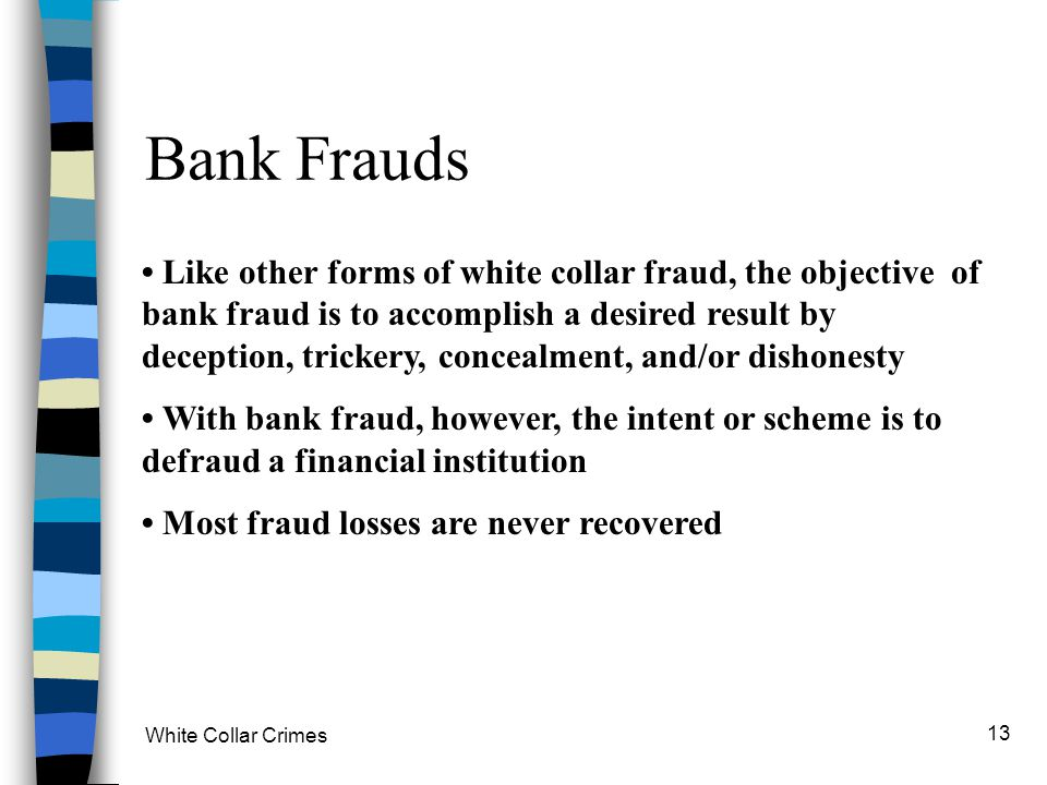 Bank Frauds