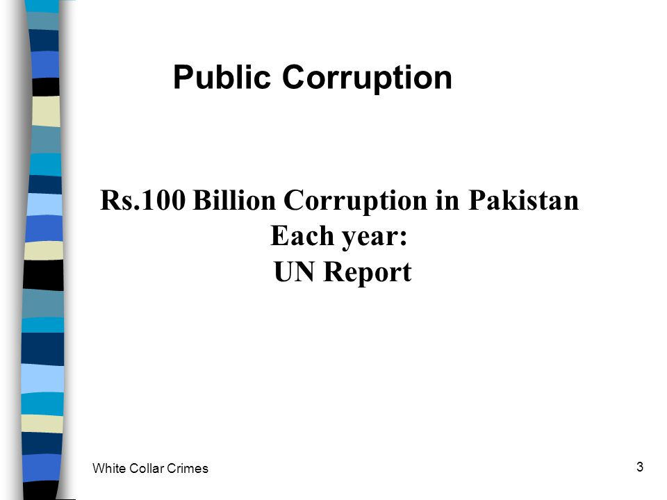 Rs.100 Billion Corruption in Pakistan