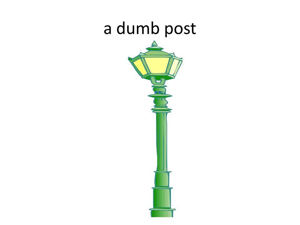 a dumb post