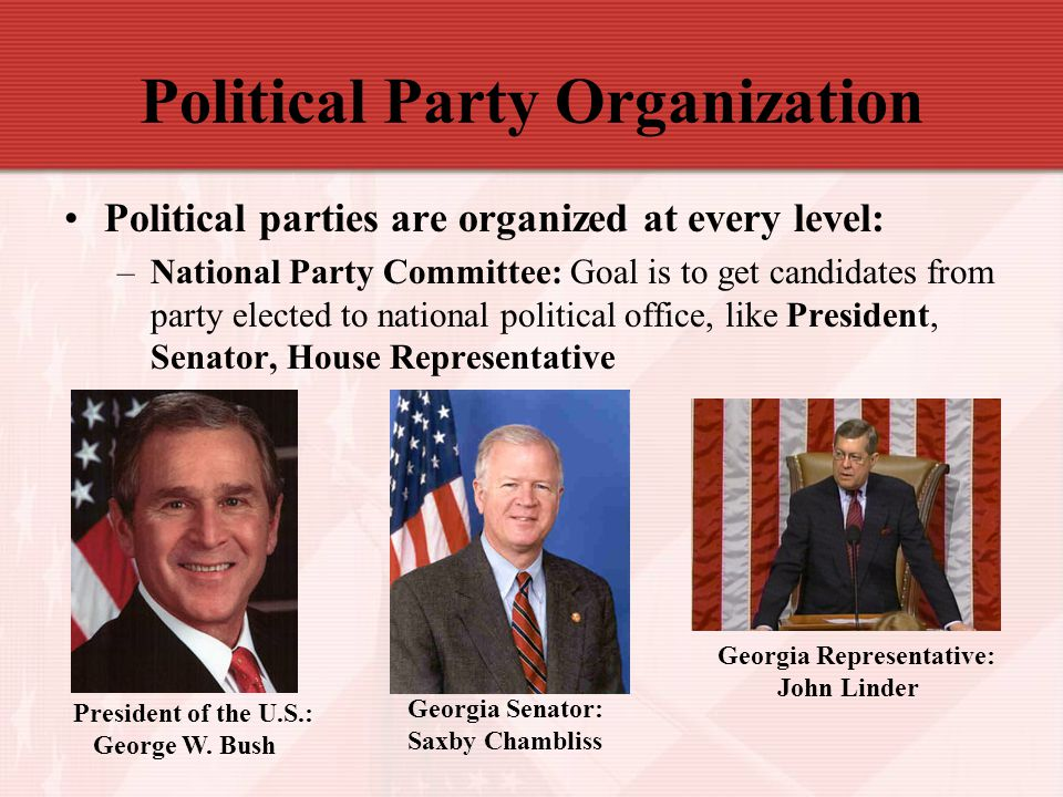 Political Party Organization