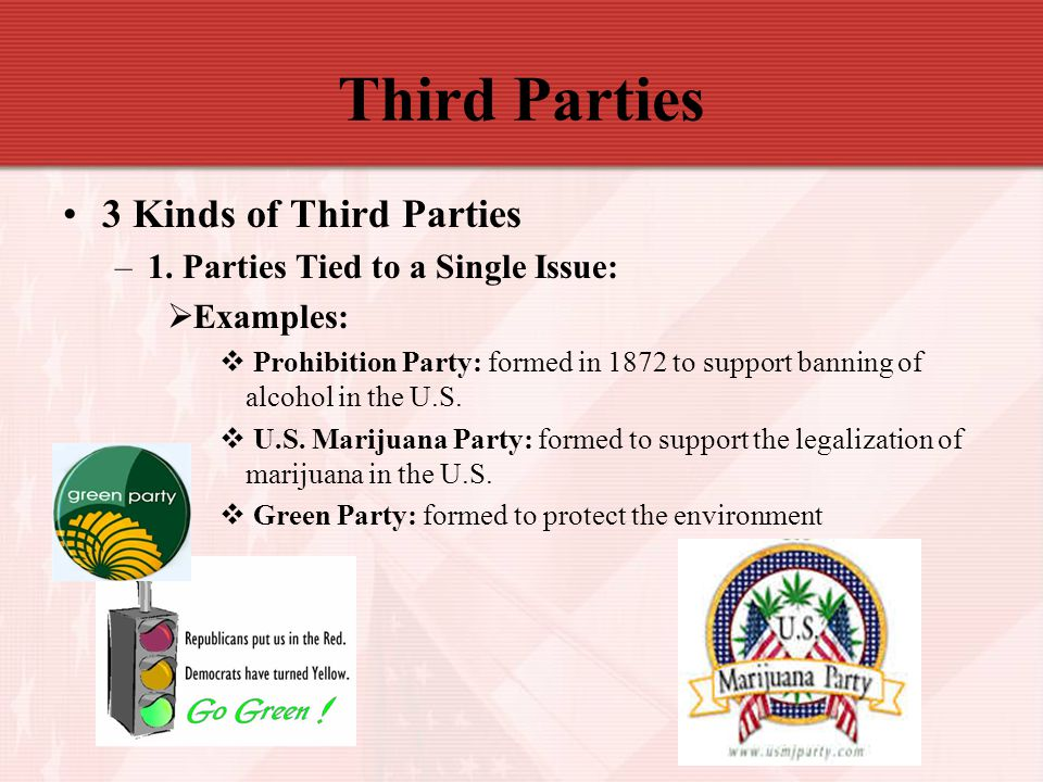 Third Parties 3 Kinds of Third Parties