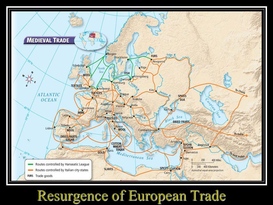Resurgence of European Trade