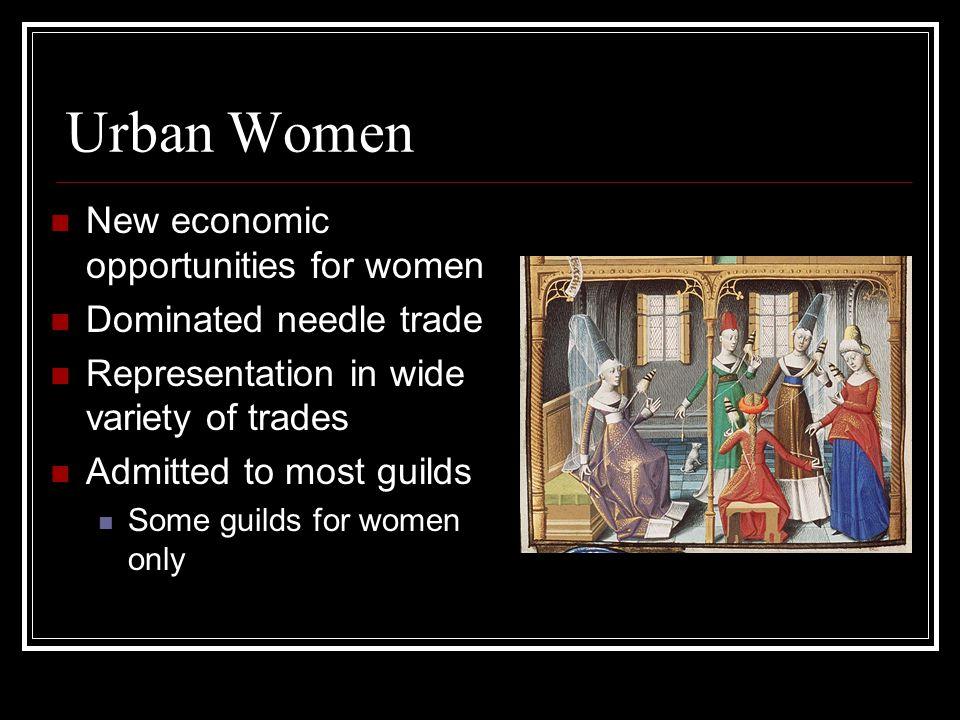 Urban Women New economic opportunities for women