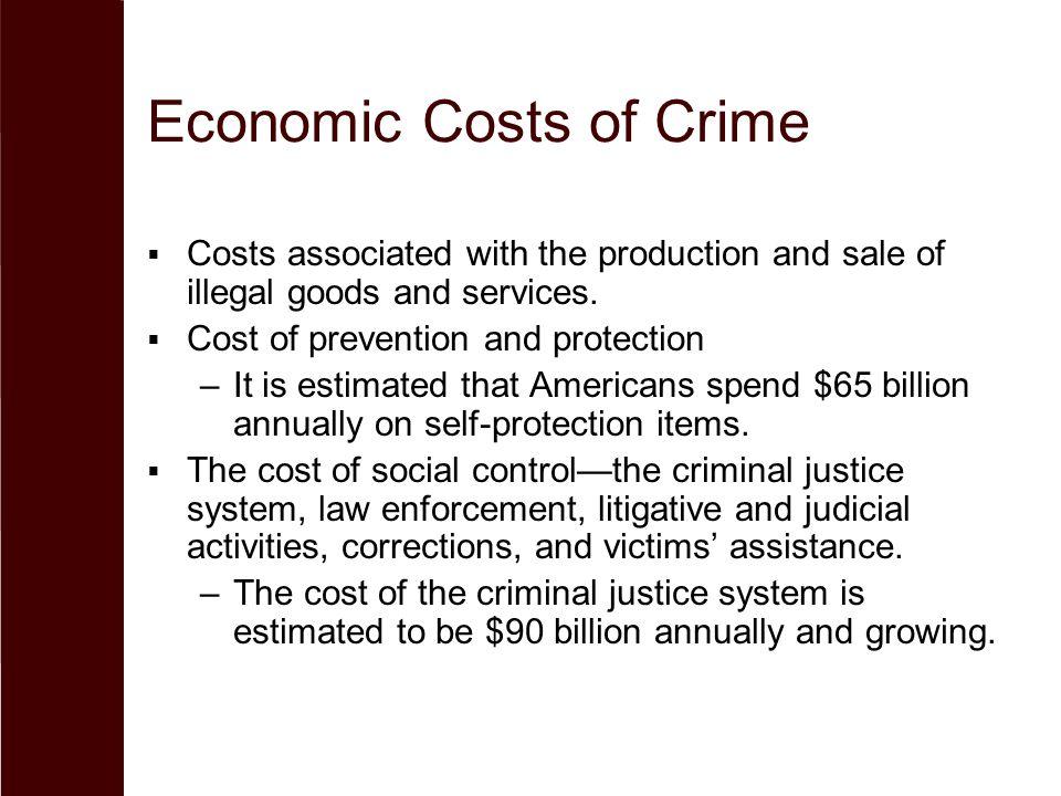 Economic Costs of Crime