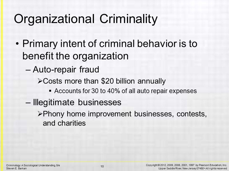 Corporate Financial Crime