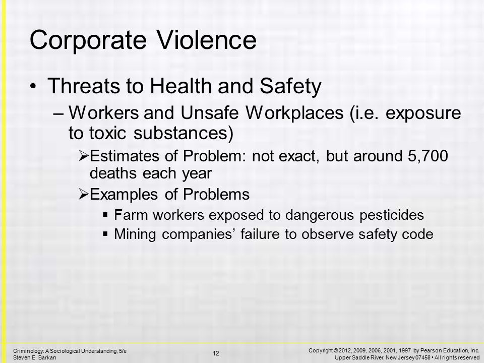 Corporate Crime Consumers and Unsafe Products The Automobile Industry