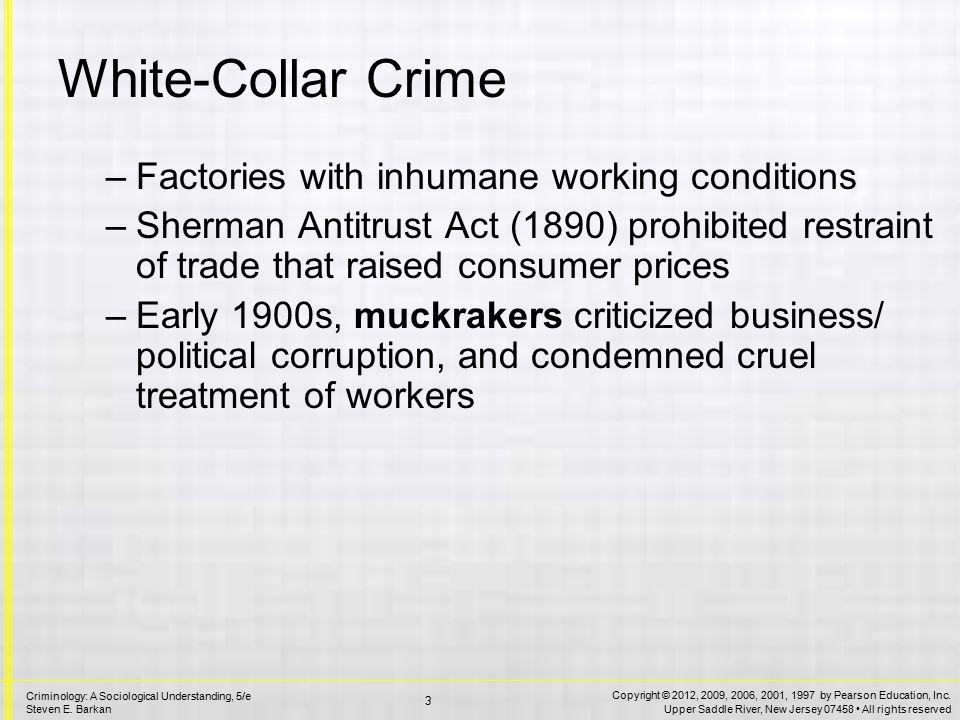 White-Collar Crime Edwin Sutherland
