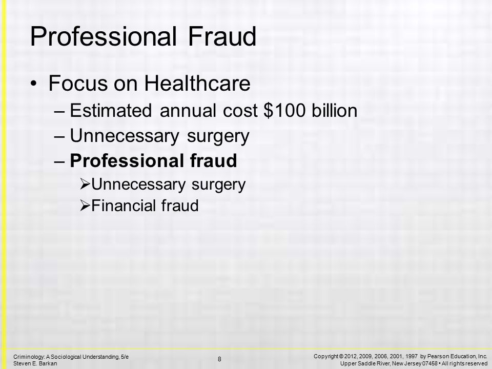 Health Care Fraud Exaggerating charges