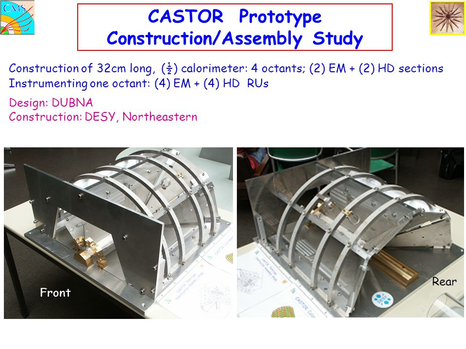 CASTOR Prototype Construction/Assembly Study