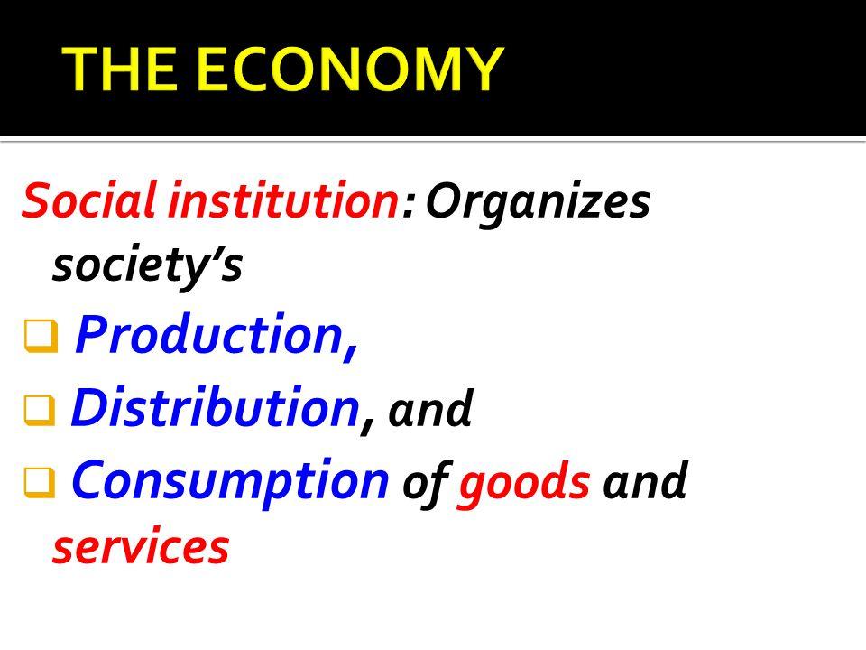 THE ECONOMY: HISTORICAL