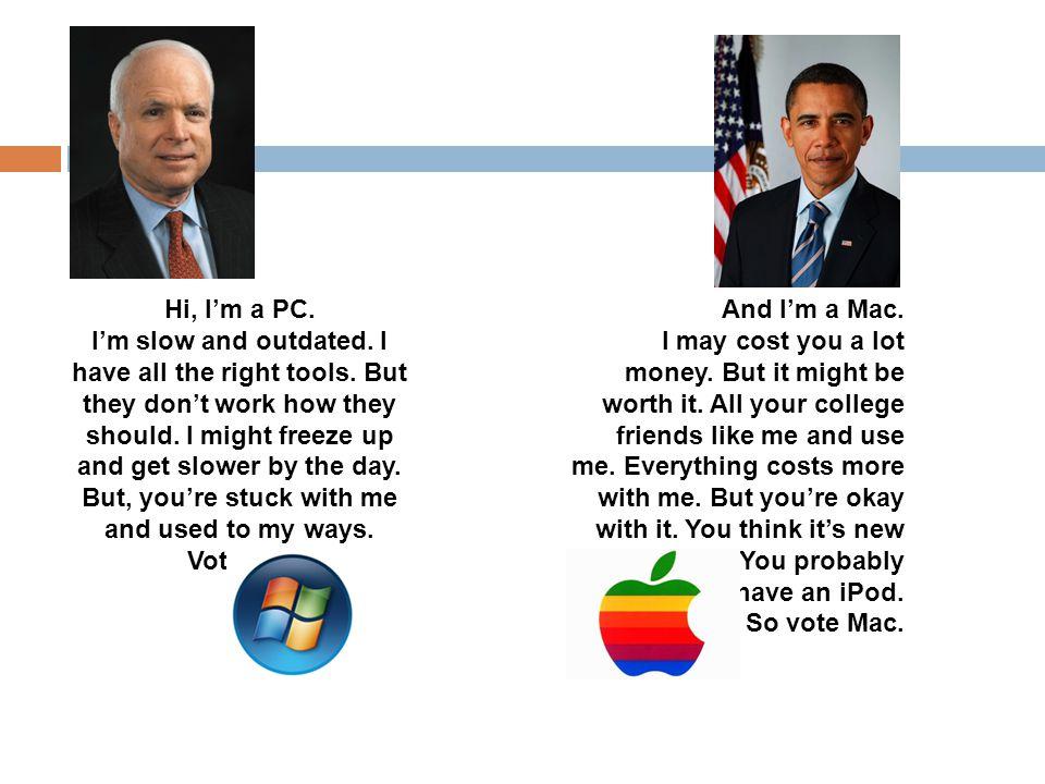 Hi, I'm a PC.