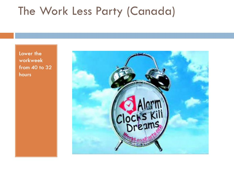 The Work Less Party (Canada)
