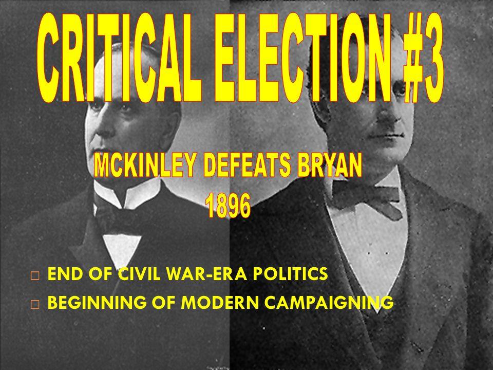 MCKINLEY DEFEATS BRYAN