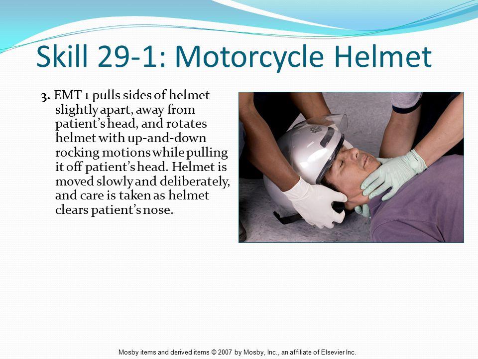 Skill 29-1: Motorcycle Helmet