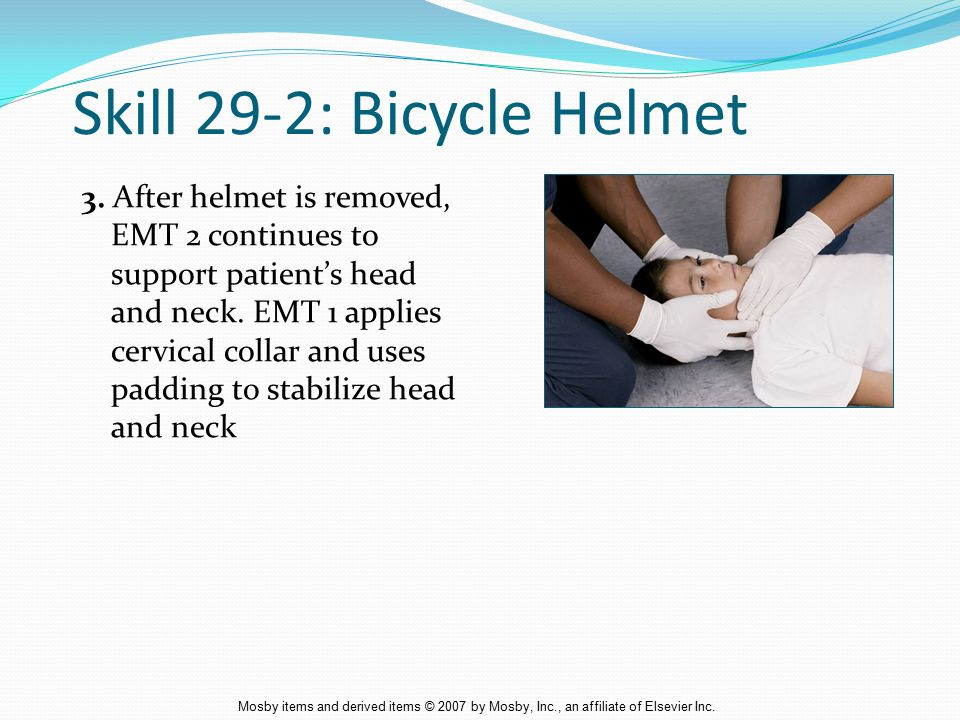 Skill 29-2: Bicycle Helmet