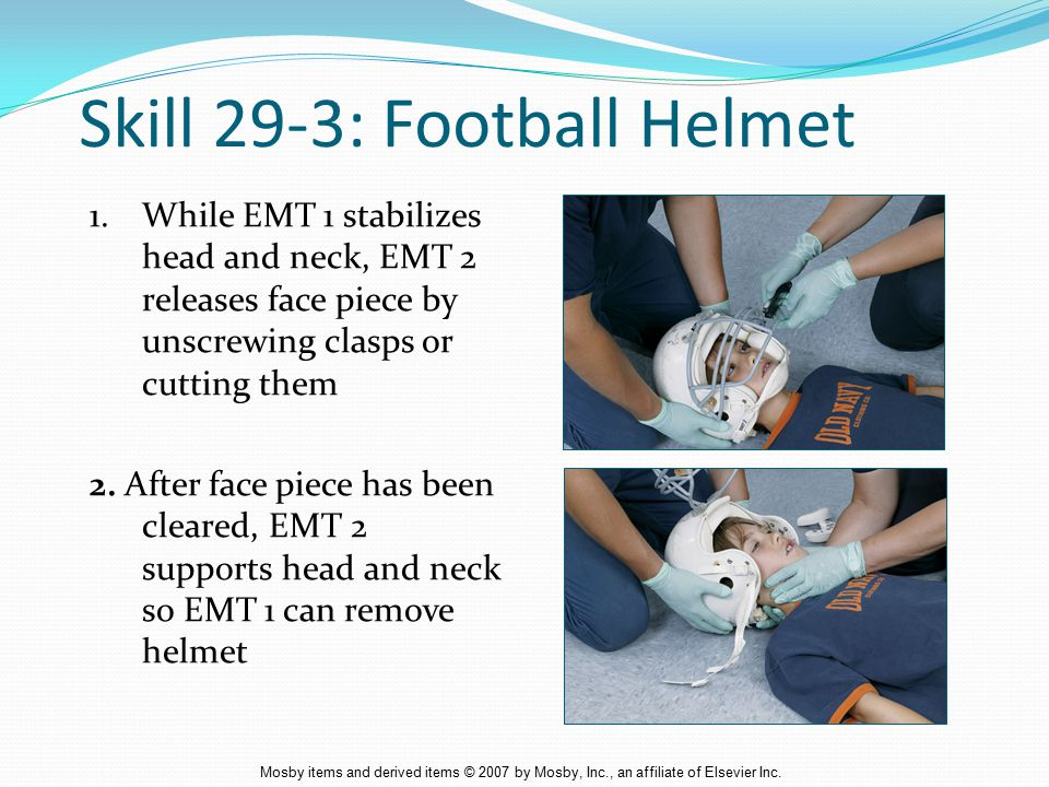 Skill 29-3: Football Helmet