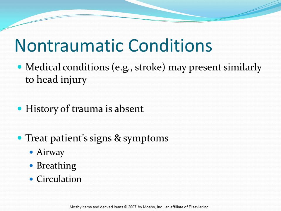 Nontraumatic Conditions
