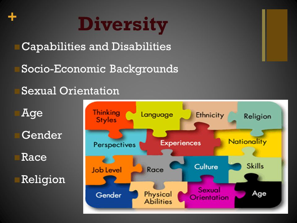 Diversity Capabilities and Disabilities Socio-Economic Backgrounds